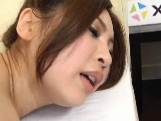 Anna Kousaka has big boobs touched and shaking during