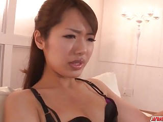 Extreme Asian xxx hardcore with Satomi Kirihara