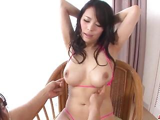 Kyouko Maki shakes dick in her premium milf pussy