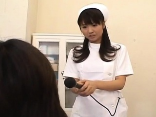 Misato Kuninaka nurse is fucked with medical tools and