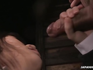 After a nice cock tug she gets ass licked too