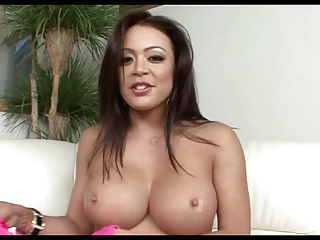 Busty Asian ML Sloppy Deepthroat Facefuck
