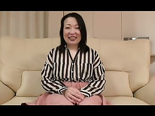 52yr old Thick Granny Nobue Ugou Creamed Uncensored