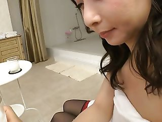 Yuka Osawa sucking a cock
