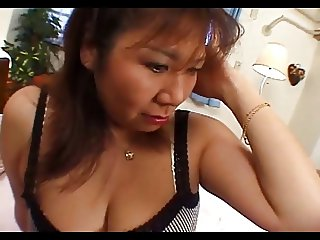46yr old Chubby Japanese Mom Fucks Good Uncensored
