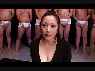 Minako Komukai First BUKKAKE