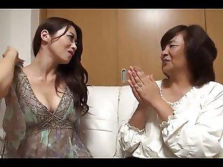 34yr old Maki Houjo Picks Up 2 Matures vol 2 Uncensored