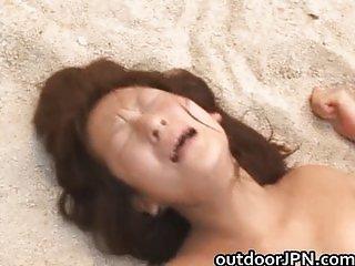 Akane Mochida lovely Asian babe getting