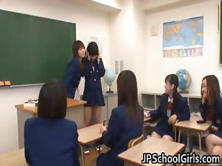 Anri Nonaka and Kurumi naughty part6
