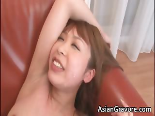 Sexy nasty horny asian babe gets wet part5