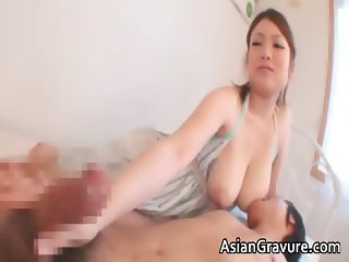 Great brunette asian babes with big tits part6
