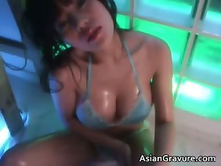 Horny nasty sexy body cute brunette part4