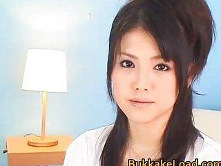 Io Asuka beautiful real asian lady enjoys lot