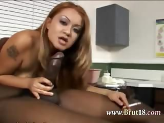Asian princess in nylons make handjob