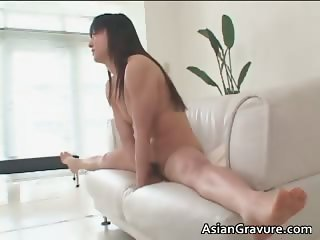 Sexy brunette asian hottie with hairy part2