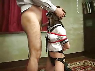 Asian Schoolgirl Ring Gag