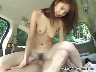 Cute oriental chick sucks weiner part4