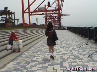 Mikan Lovely Asian student shocks part4