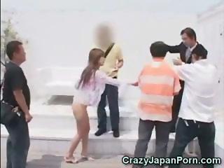 Hypnotized Teen Asian Gets Fucked