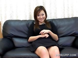 Happy japanese slut having fun
