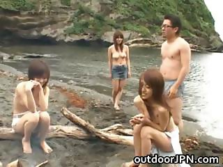 Arisa Kanno Asian babe and friends part6