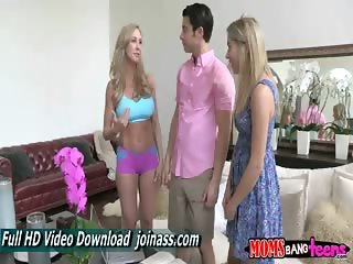 Brandi Love And Lia Lor blonde lesbian masturbation mature muscle teen