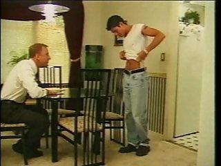 Arrogant pimp auditioning a jeansboy