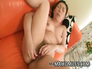 Kimiko Yasue Nippon Mature Receiving A Creampie Load