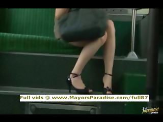 Rio innocent asian girl is fucked on the bus