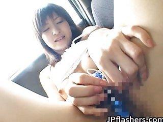 Anna Nanba Kinky Asian babe is naked