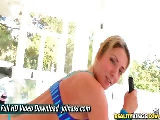 Sheena Shaw She wanted the cock buried deep in her ass