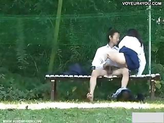 Sexual exciting outdoor sex