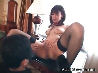 Hot cute sexy body asian babe gets tied part1