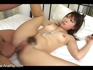 Beautiful hooker from asian enjoys sex