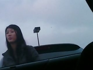 Flash Asian chick
