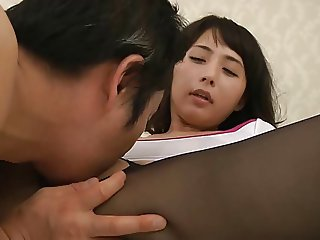 Yuka Osawa gets a cream pie uncensored
