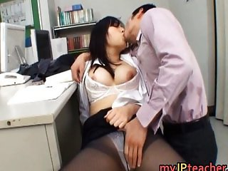 Azusa Nagasawa Asian babe is busty