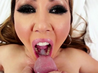 Asian milf pov sucking