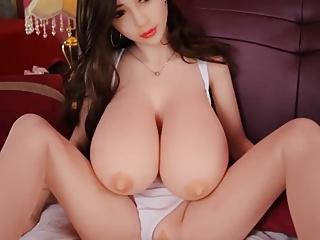 Big boobs asian sex doll, blowjob anal creampie fantasies