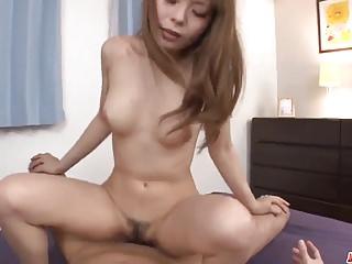 Busty Anri Sonozaki enjoys cock in both her tight holes