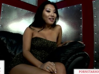 Young Asa Akira Fucked Hard and Massive Facial by Huge Cock!