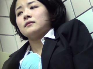 Masturbating asian public