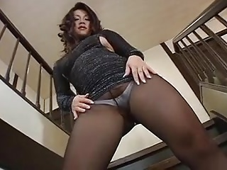 Sexy Jav Mature Pantyhose Show 2