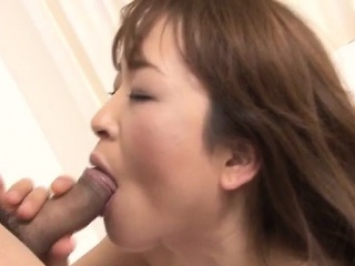 Hikaru Wakabayashi uses her big tits to play with cock